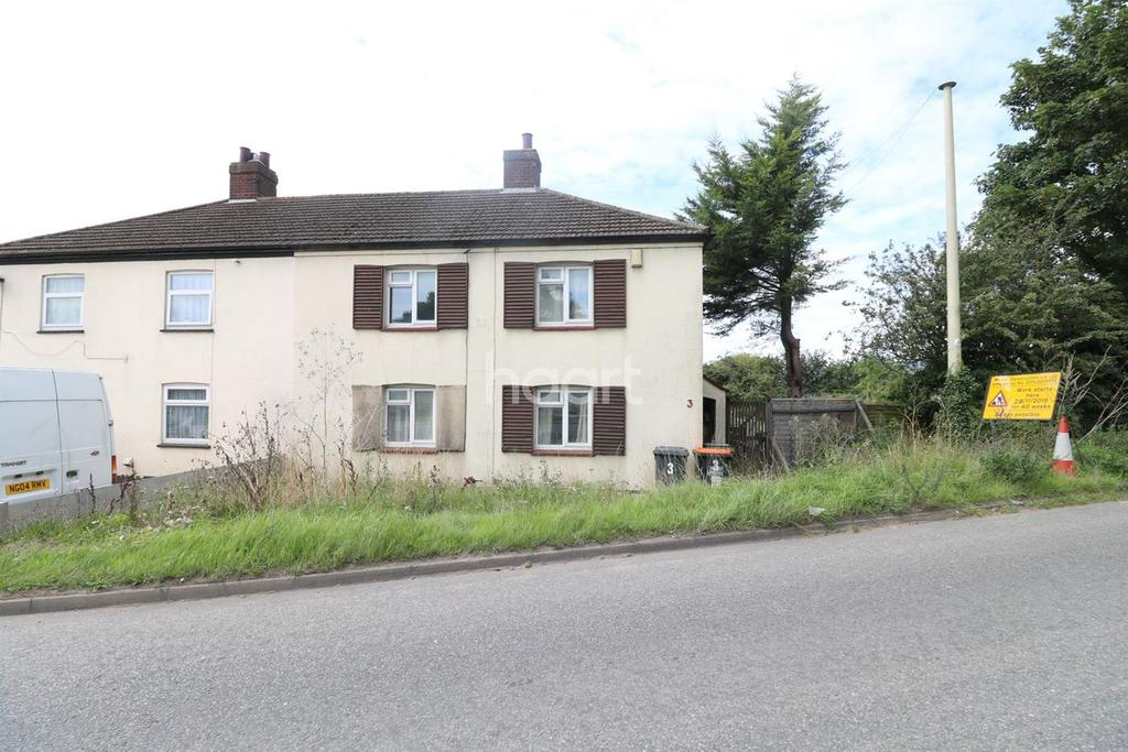 3 Bedrooms Semi Detached House for sale in Tythe Cottages, Luton, LU4
