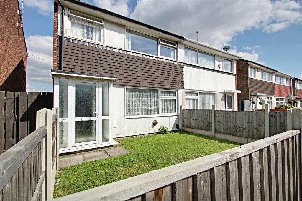 3 Bedrooms Semi Detached House for sale in Wilford Crescent West, Meadows