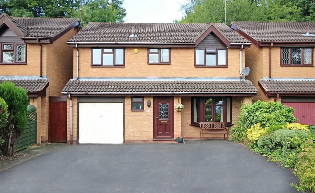 4 Bedrooms Detached House for sale in 36 Linnet Close, HALESOWEN, West Midlands