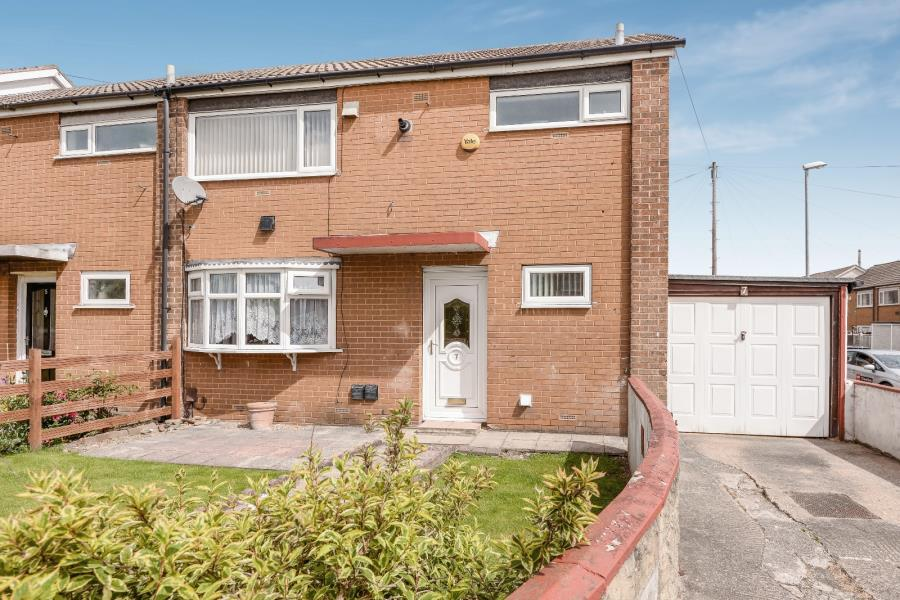 3 Bedrooms End Of Terrace House for sale in STANKS LANE NORTH, LEEDS, LS14 5DD
