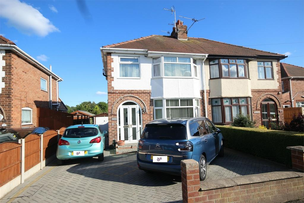 3 Bedrooms Semi Detached House for sale in Leaches Lane, Mancot, Deeside, Flintshire