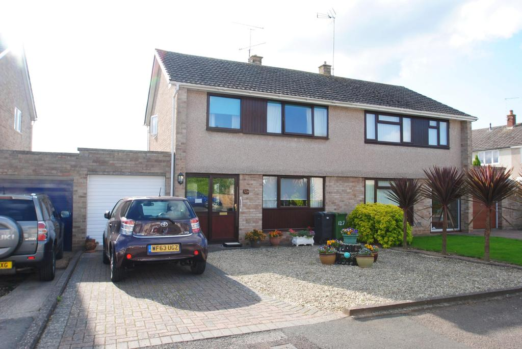 3 Bedrooms Semi Detached House for sale in Farm View, Taunton