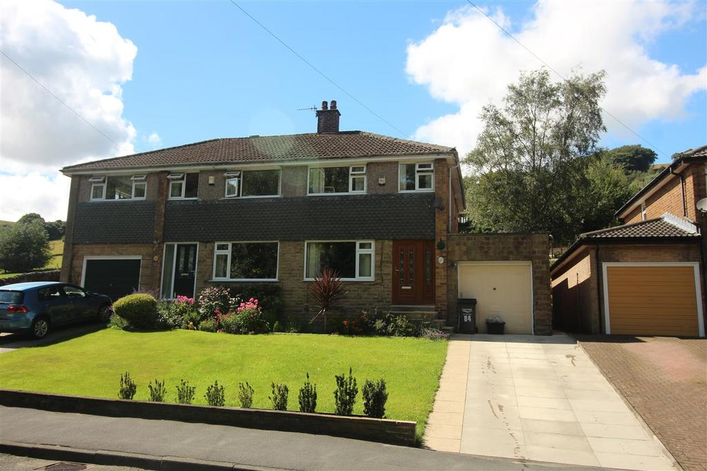 4 Bedrooms Semi Detached House for sale in Cragg Road, Mytholmroyd, Hebden Bridge