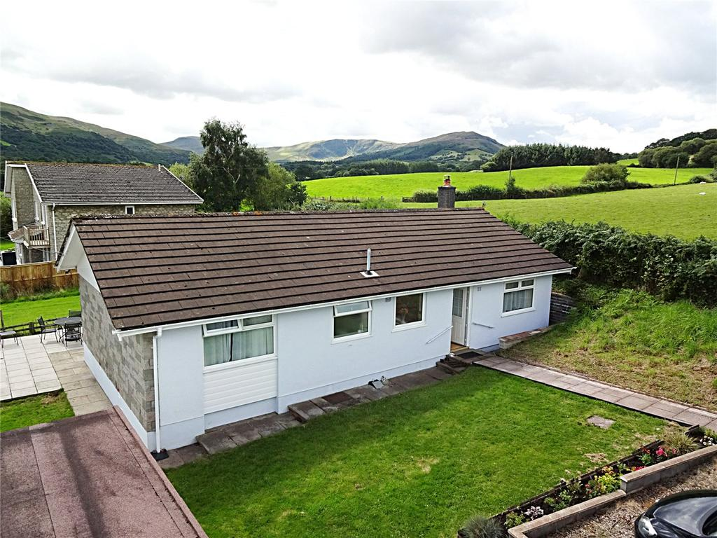 3 Bedrooms Detached Bungalow for sale in Libanus, Brecon, Powys
