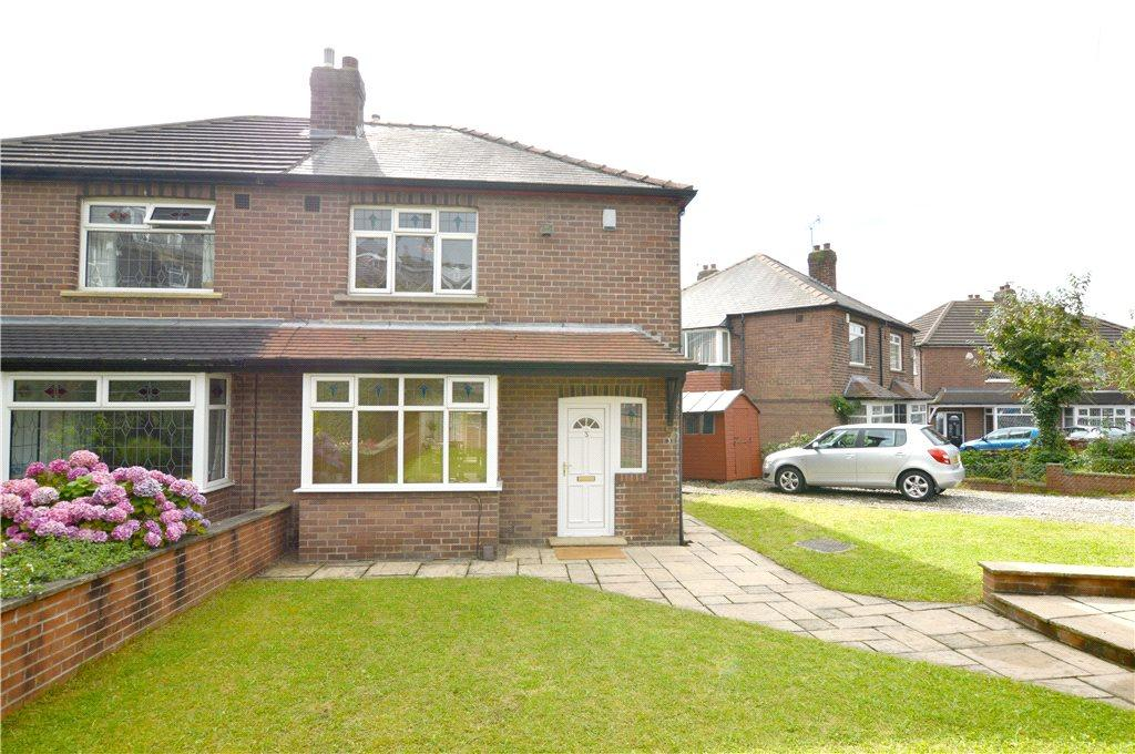 3 Bedrooms Semi Detached House for sale in New Street Gardens, Pudsey, West Yorkshire