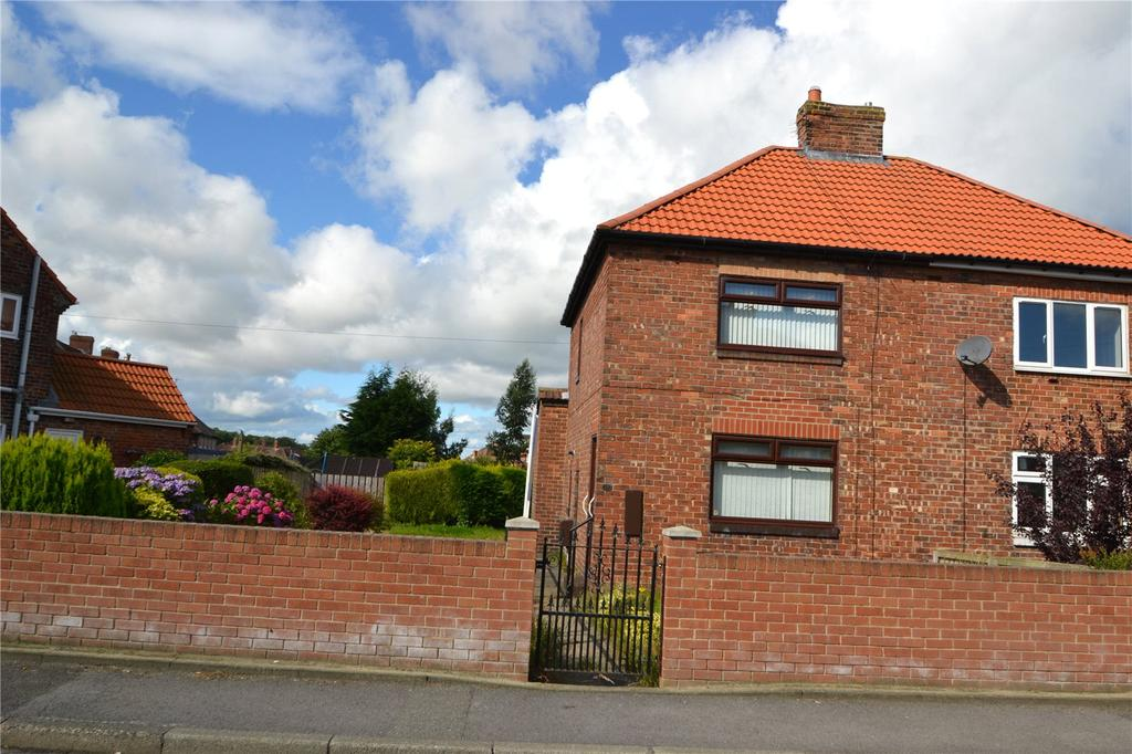 2 Bedrooms Semi Detached House for sale in Handel Terrace, Wheatley Hill, Co.Durham, DH6