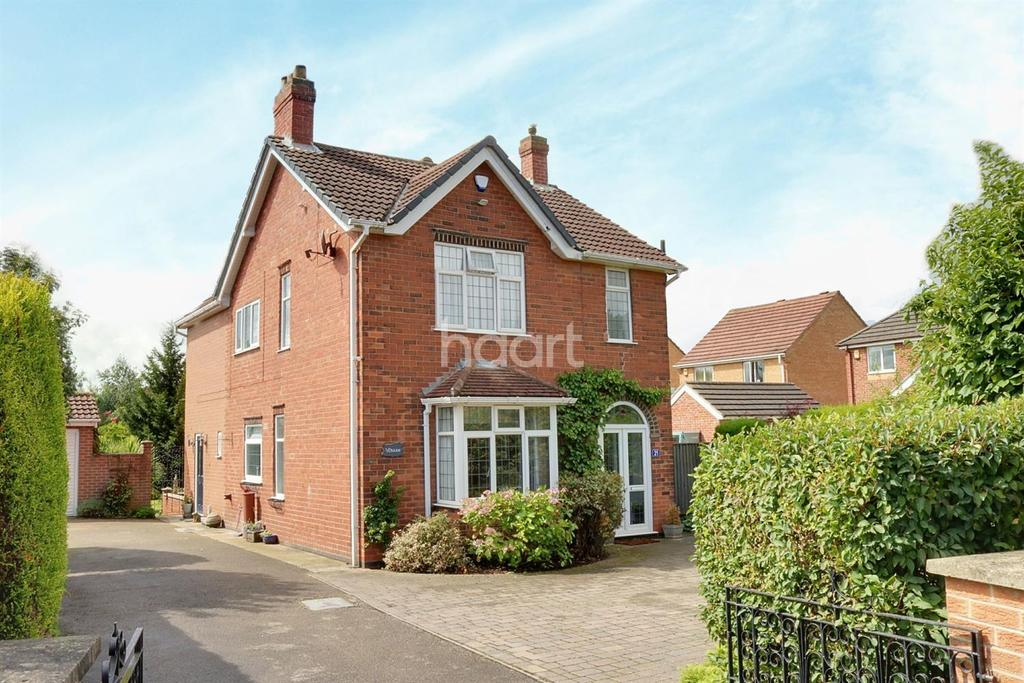 4 Bedrooms Detached House for sale in High Leys Road, Hucknall