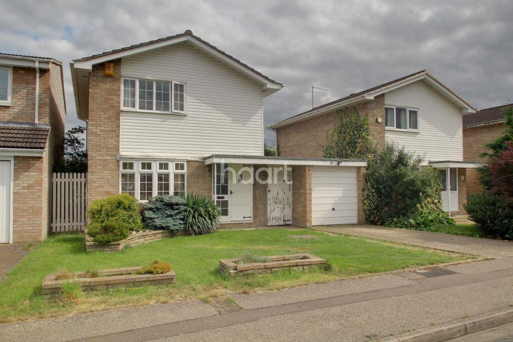 3 Bedrooms Detached House for sale in Blandford Gardens, Peterborough