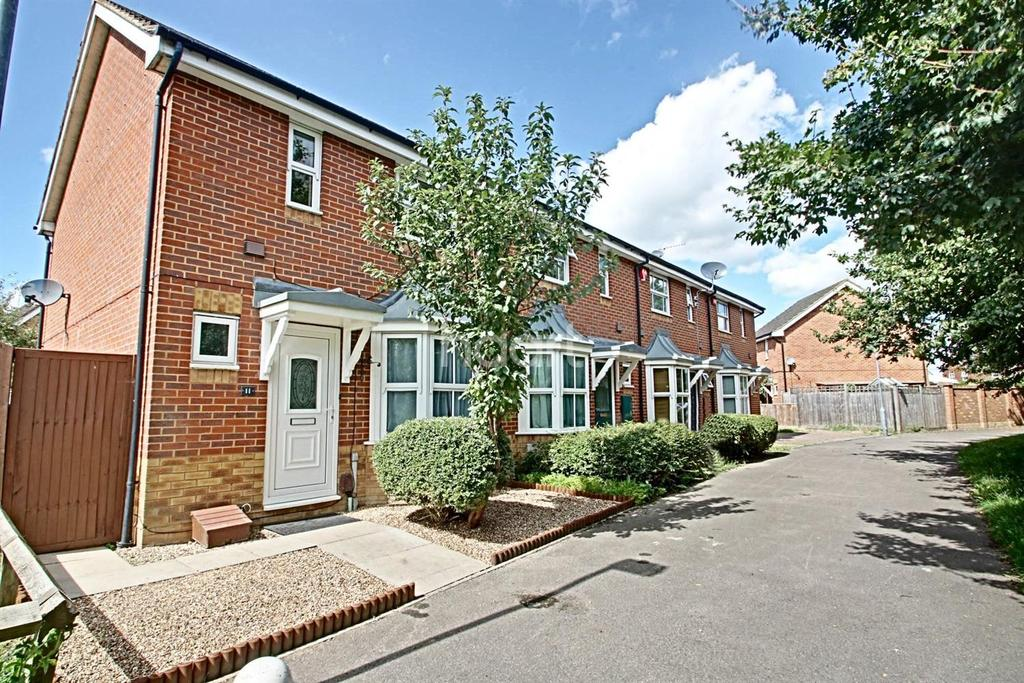 2 Bedrooms End Of Terrace House for sale in Hunters Way