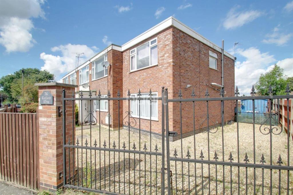 3 Bedrooms Semi Detached House for sale in Telford Way, Thurnby, Leicester