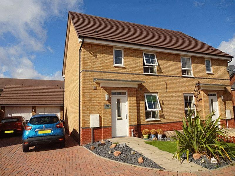 3 Bedrooms Semi Detached House for sale in Rainsford Crescent, Kidderminster DY10 2GF