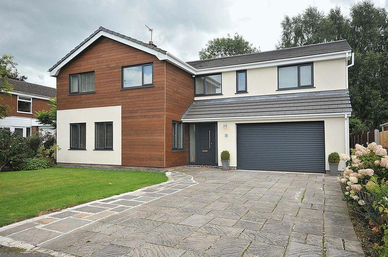 5 Bedrooms Detached House for sale in Willow Lane, Goostrey