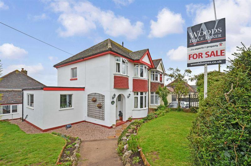 3 Bedrooms Semi Detached House for sale in Marldon Road, Paignton