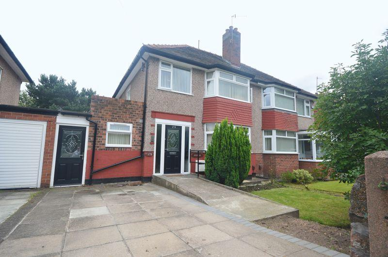 3 Bedrooms Semi Detached House for sale in Woolton Road, Garston