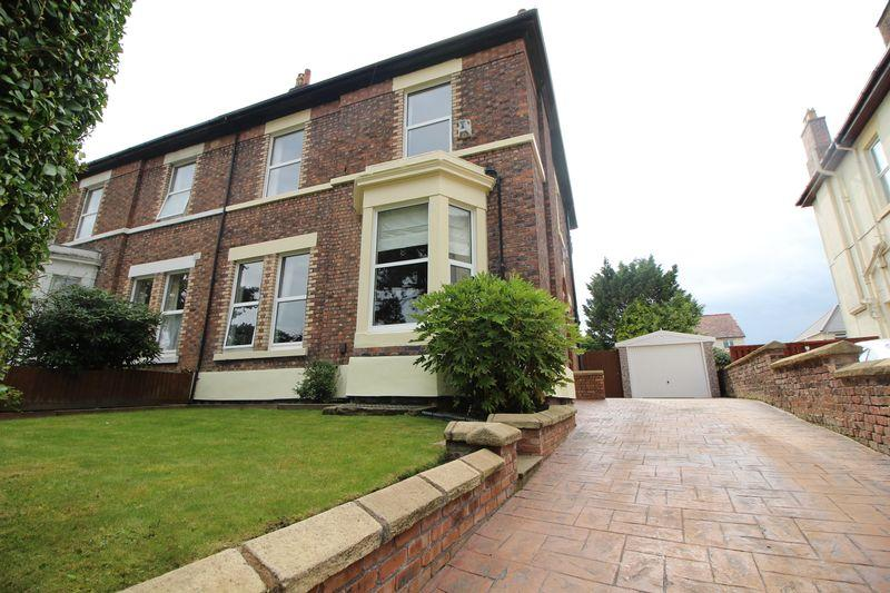5 Bedrooms Semi Detached House for sale in Woodhey Road, Wirral