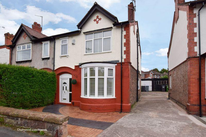 4 Bedrooms Semi Detached House for sale in Thelwall New Road, Grappenhall,