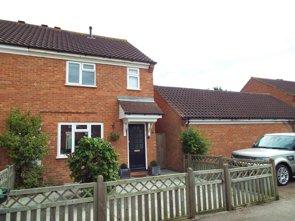 3 Bedrooms End Of Terrace House for sale in Ripon Court, Biggleswade, Bedfordshire, SG18