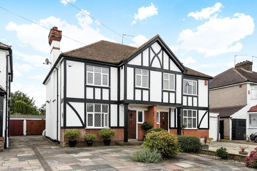 3 Bedrooms Semi Detached House for sale in Pickhurst Rise, West Wickham