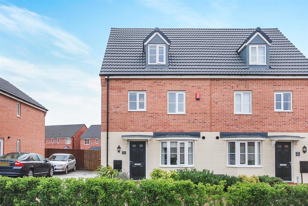 4 Bedrooms Semi Detached House for sale in Brockington Road, Melton Mowbray