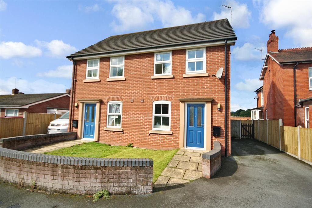 2 Bedrooms Semi Detached House for sale in Chirk Road, Gobowen, Oswestry