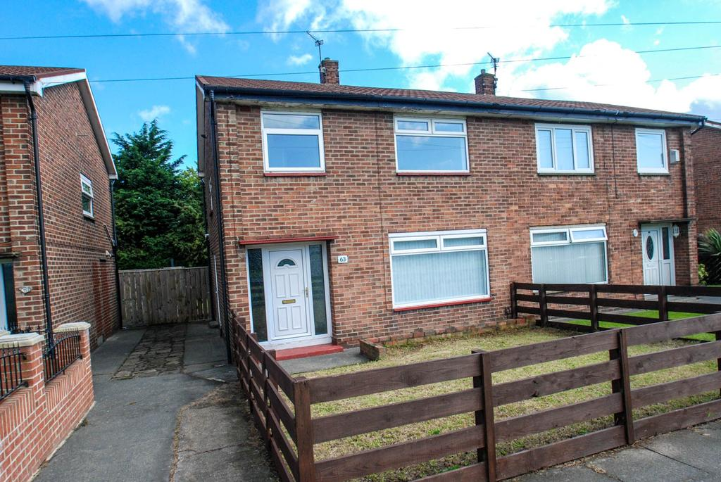 3 Bedrooms Semi Detached House for sale in Whiteleas Way, South Shields