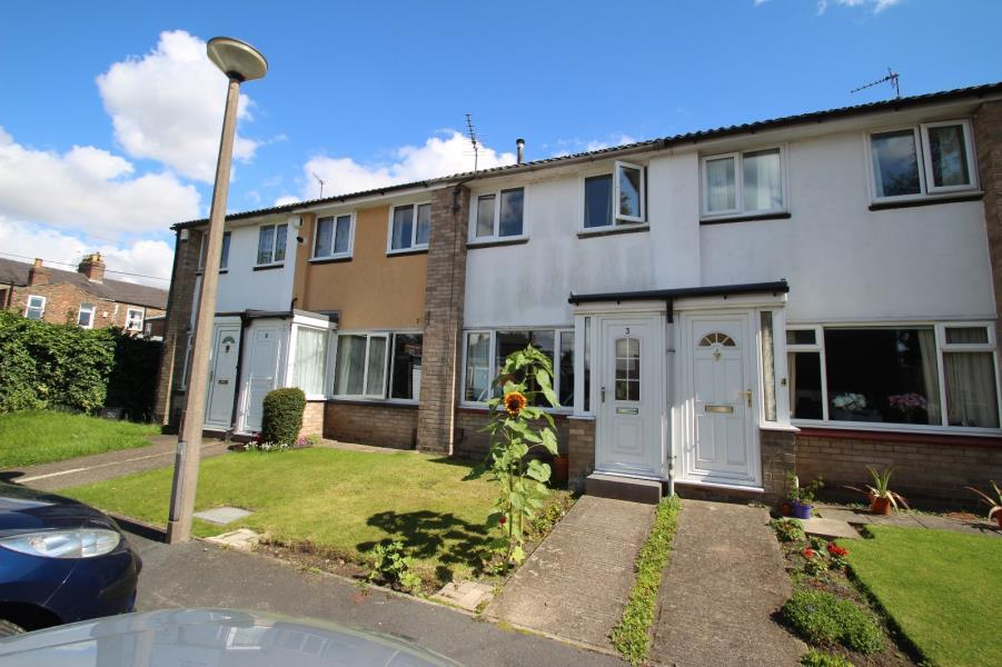 2 Bedrooms Terraced House for sale in HAROLD COURT, YORK, YO24 3PX