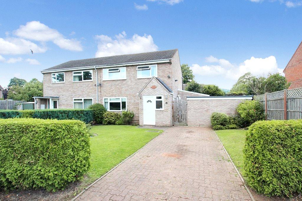 3 Bedrooms Semi Detached House for sale in Matravers Road, Malvern, Worcestershire, WR14