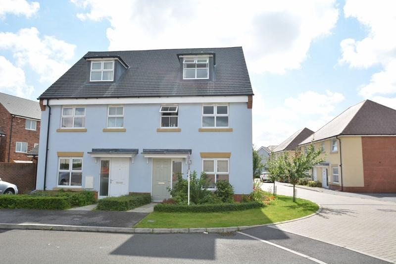 3 Bedrooms Town House for sale in Vetch Way, Andover