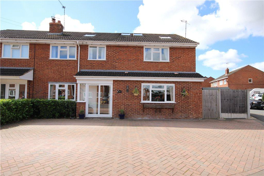 4 Bedrooms Semi Detached House for sale in Beech Avenue, Drakes Broughton, Pershore, Worcestershire, WR10