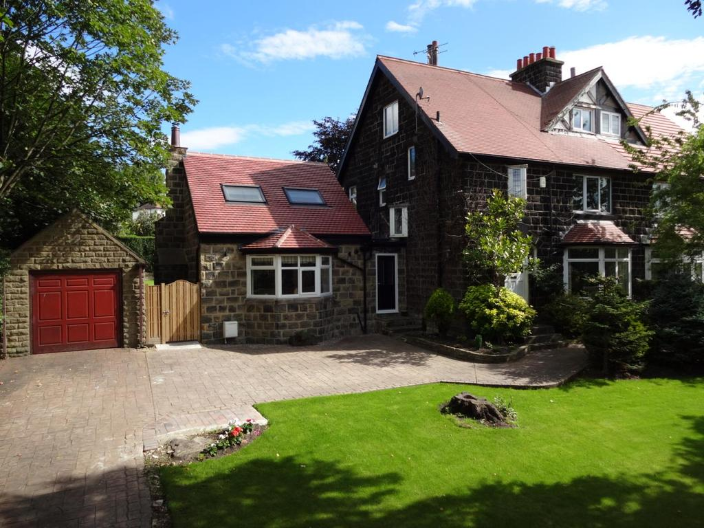 5 Bedrooms Semi Detached House for sale in Leeds Road, Rawdon