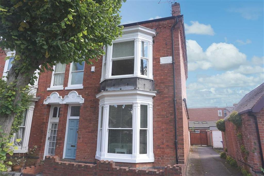 4 Bedrooms End Of Terrace House for sale in Sandown Road, Stoneygate, Leicester