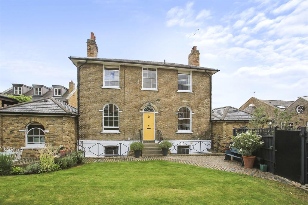 5 Bedrooms Detached House for sale in Georgette Place, Greenwich, London, SE10
