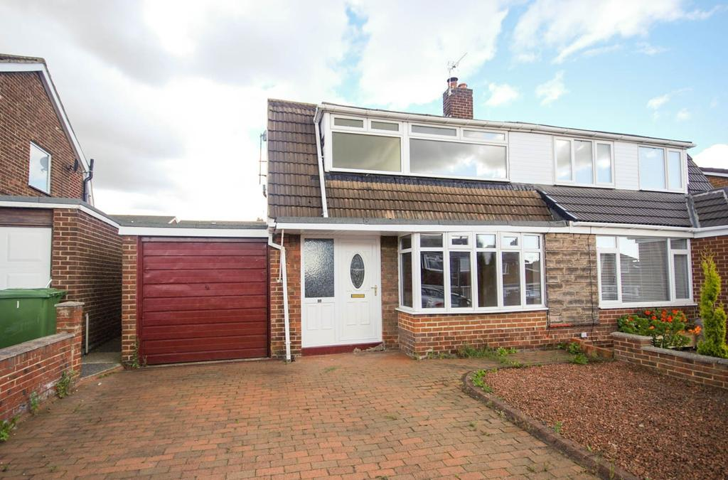 3 Bedrooms Semi Detached House for sale in Langdale, Birtley