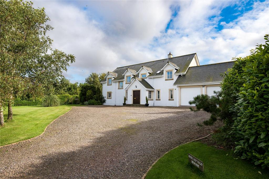 5 Bedrooms Detached House for sale in Birchfield House, Auchencrow, Berwickshire