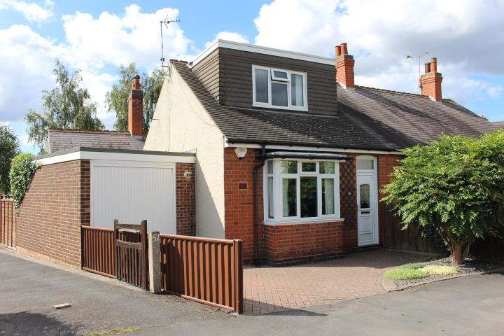 3 Bedrooms Semi Detached Bungalow for sale in Cosby Road, Littlethorpe, Leicester