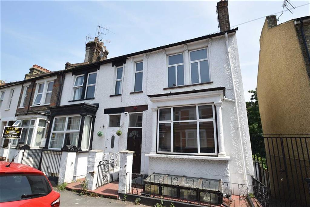 3 Bedrooms End Of Terrace House for sale in Gladstone Road, Watford, Herts
