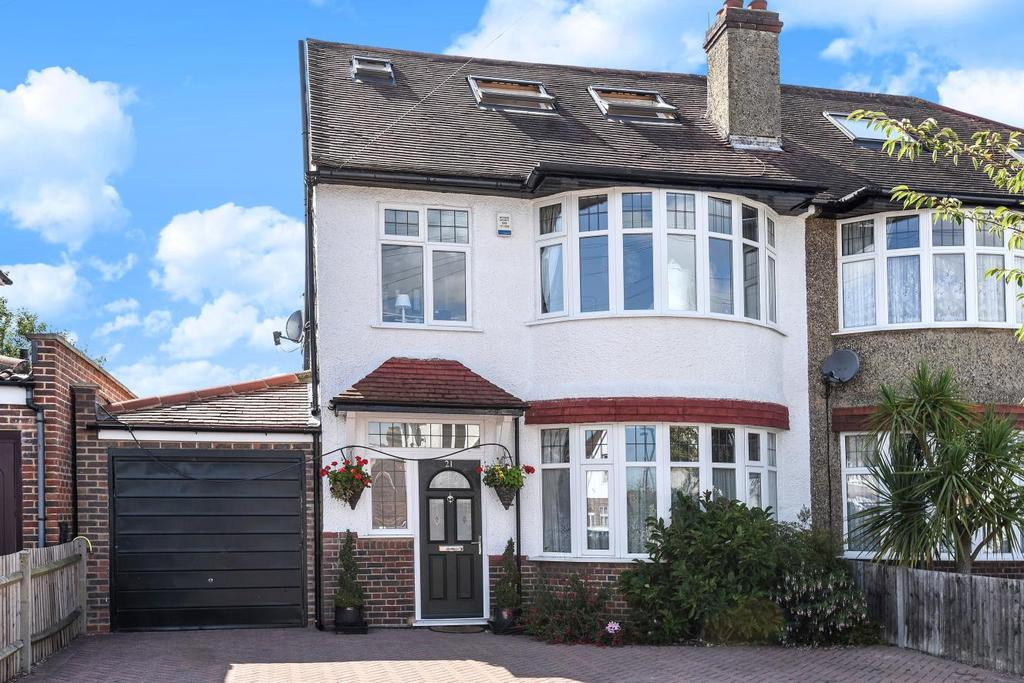 4 Bedrooms Semi Detached House for sale in East Way, Shirley