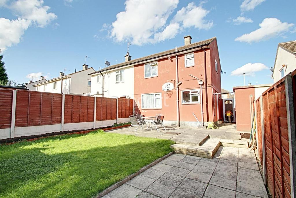 2 Bedrooms Semi Detached House for sale in Sharmon Crescent, Leicester