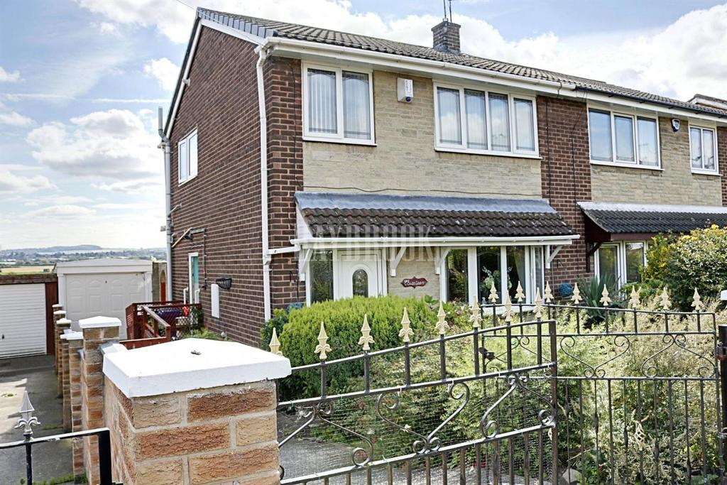 3 Bedrooms Semi Detached House for sale in Springfield Crescent, Darfield