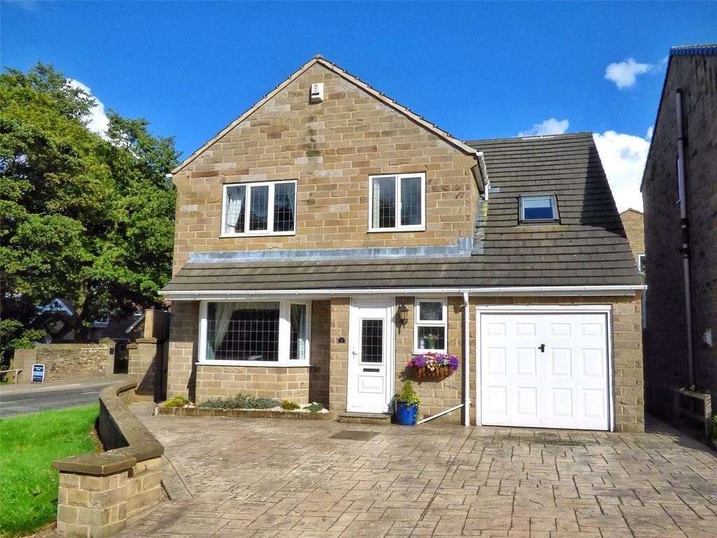 5 Bedrooms Detached House for sale in Barrowstead, Skelmanthorpe, Huddersfield, West Yorkshire, HD8