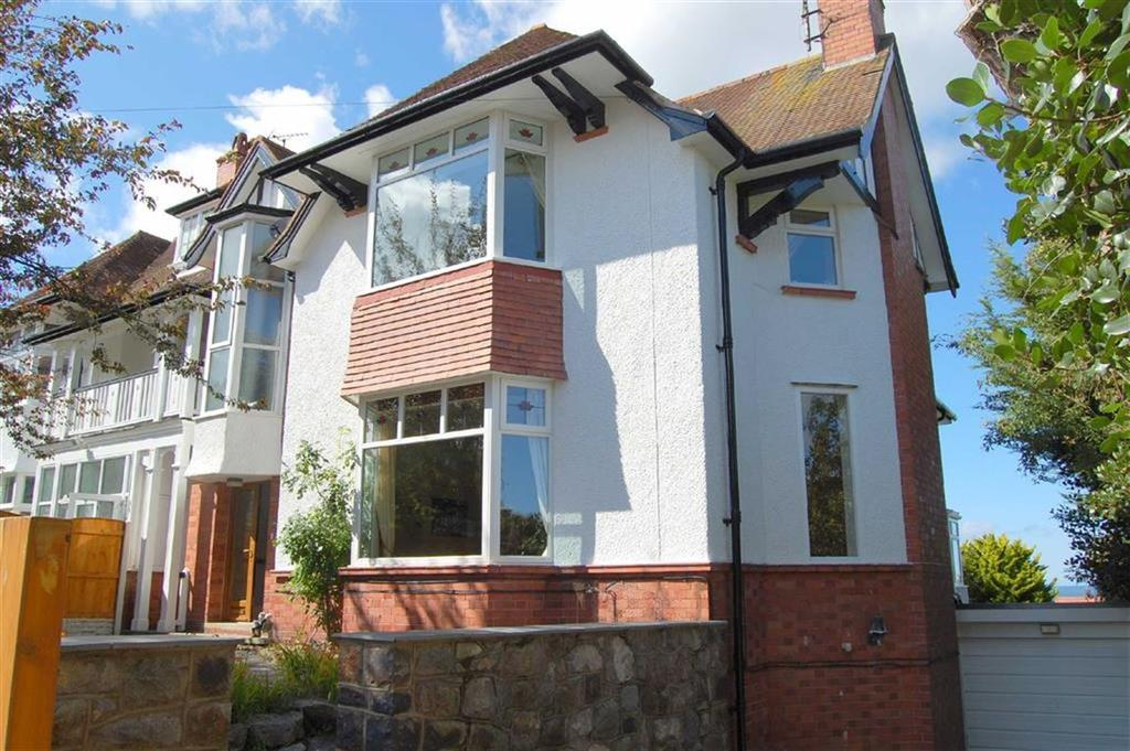 3 Bedrooms Semi Detached House for sale in Watkin Avenue, Old Colwyn, Colwyn Bay