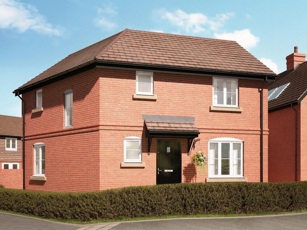 3 Bedrooms Semi Detached House for sale in Bentley, Farnham, Hampshire