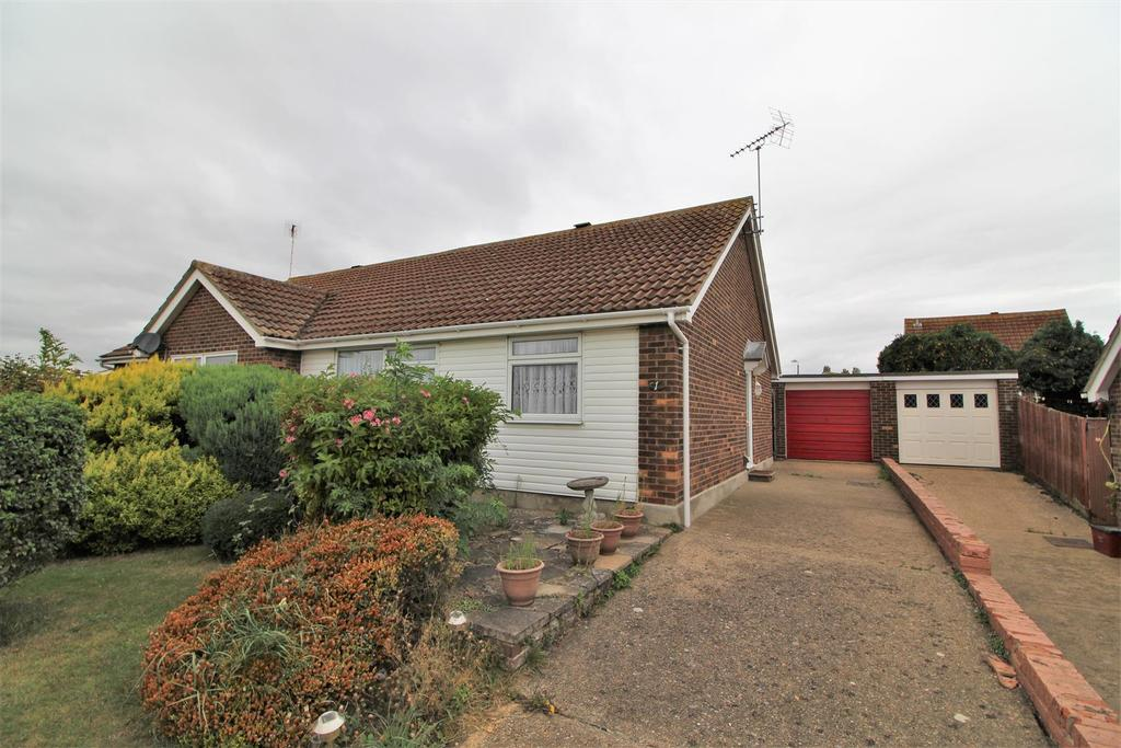 2 Bedrooms Semi Detached Bungalow for sale in Pightle Way, Walton On The Naze