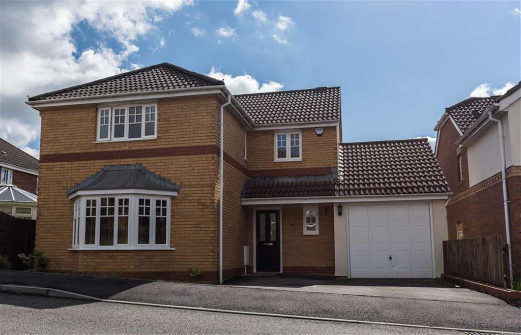 4 Bedrooms Detached House for sale in Cyril Evans Way, The Alders, Swansea