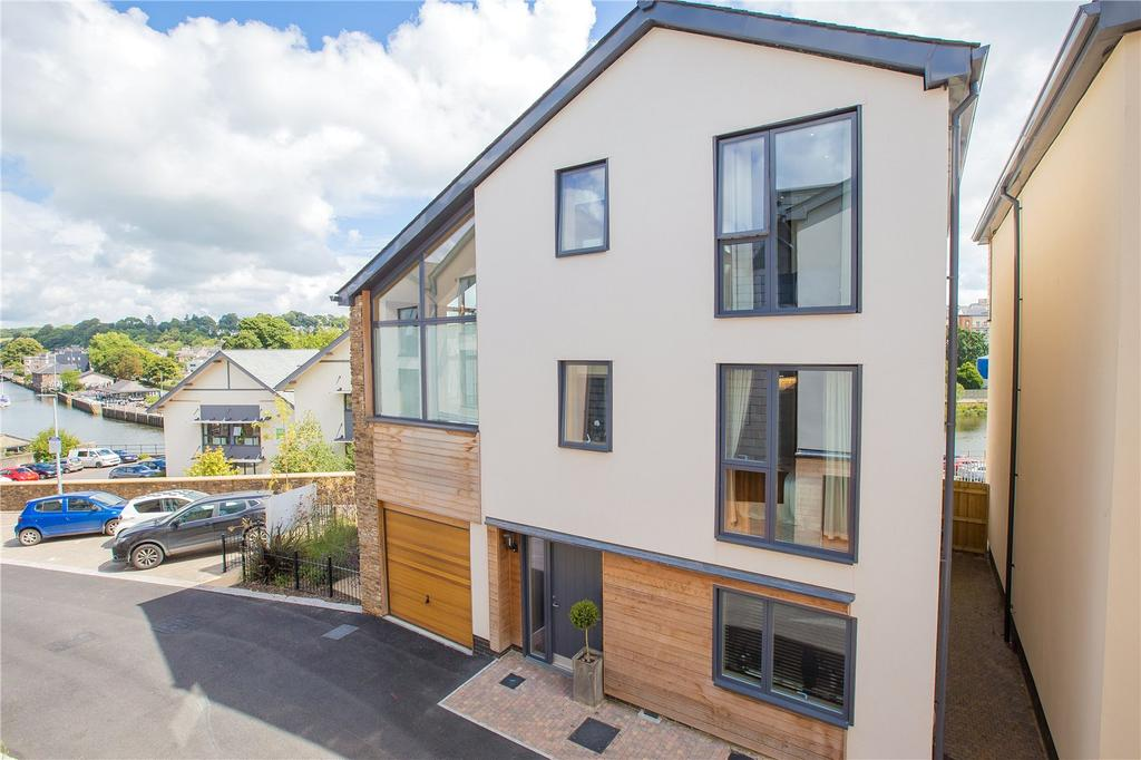 4 Bedrooms Detached House for sale in The Longcombe, Baltic Wharf, Totnes, TQ9