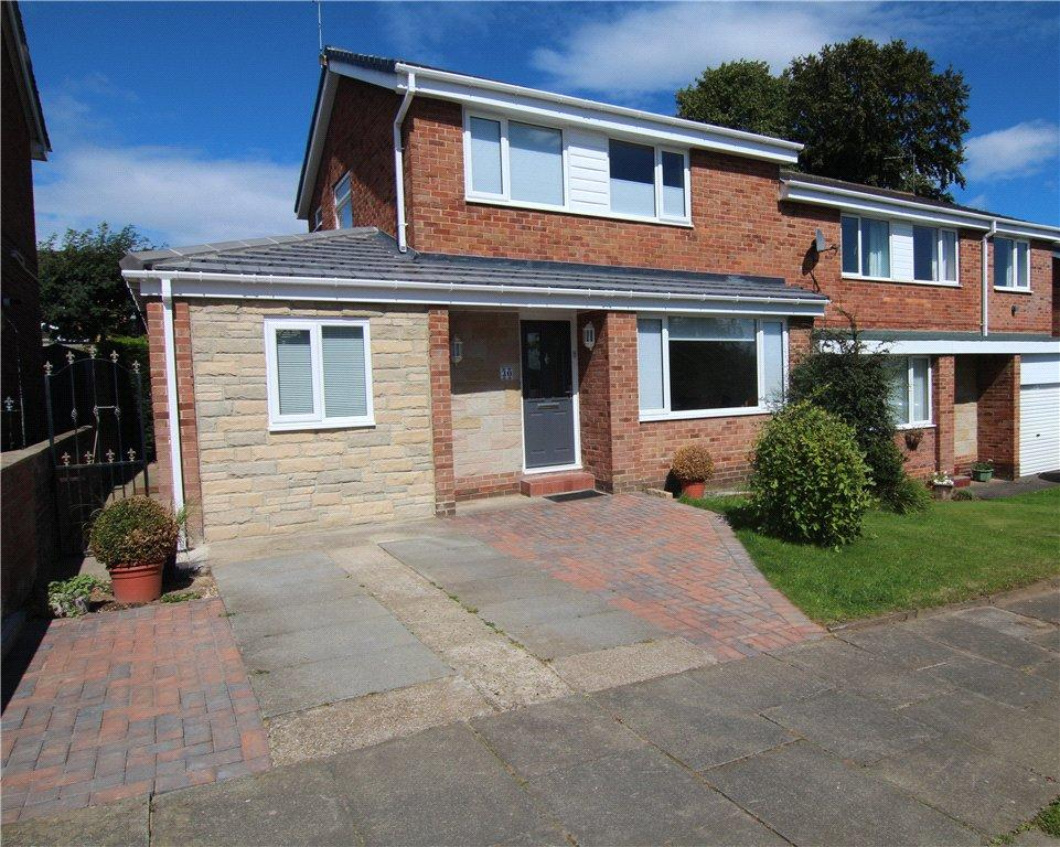 3 Bedrooms Semi Detached House for sale in Chillingham Road, Newton Hall, DH1