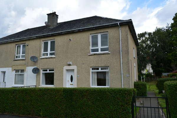 2 Bedrooms Flat for sale in 112 Killoch Drive, Knightswood, Glasgow, G13 3AT