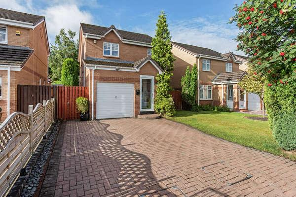 3 Bedrooms Detached House for sale in 42 Springcroft Crescent, Baillieston, Glasgow, G69 6SB