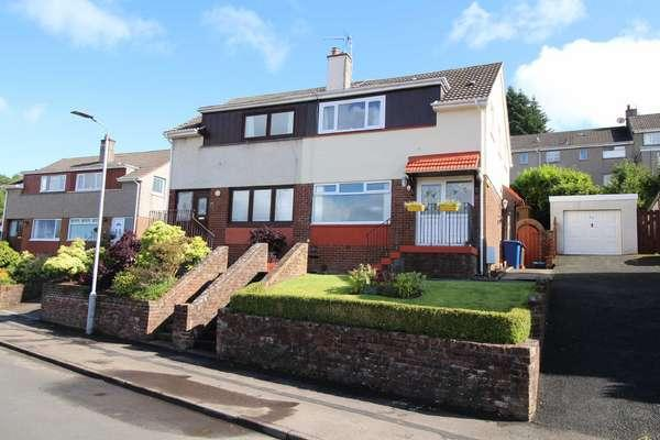 3 Bedrooms Semi-detached Villa House for sale in 43 Cowal View, Gourock, PA19 1HE
