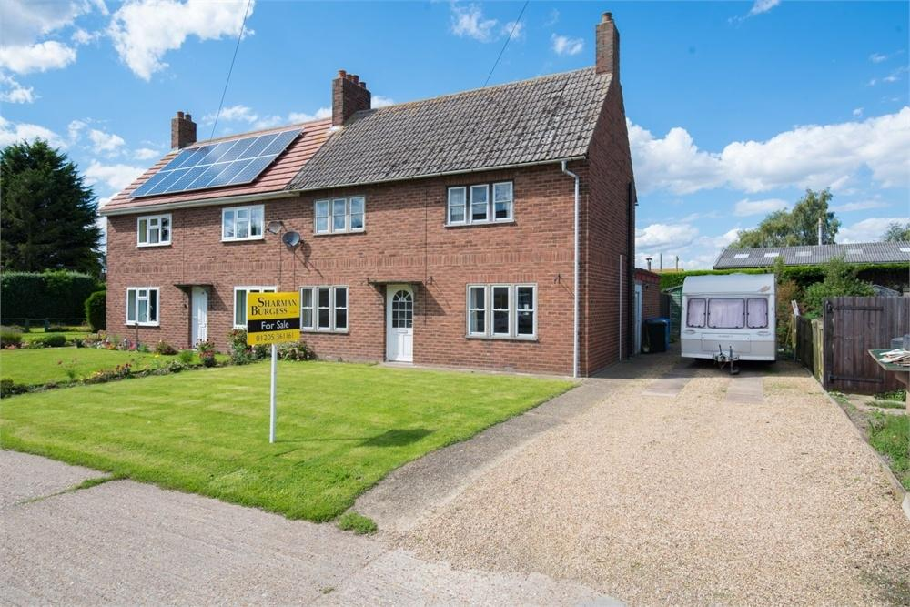 3 Bedrooms Semi Detached House for sale in Kent Road, Old Leake Commonside, Boston, Lincolnshire